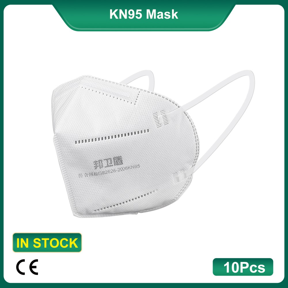 (Best Selling)10Pcs/Bag KN95 Earloop Mask Dustproof Anti-Droplet Mask Air Filter Respirator