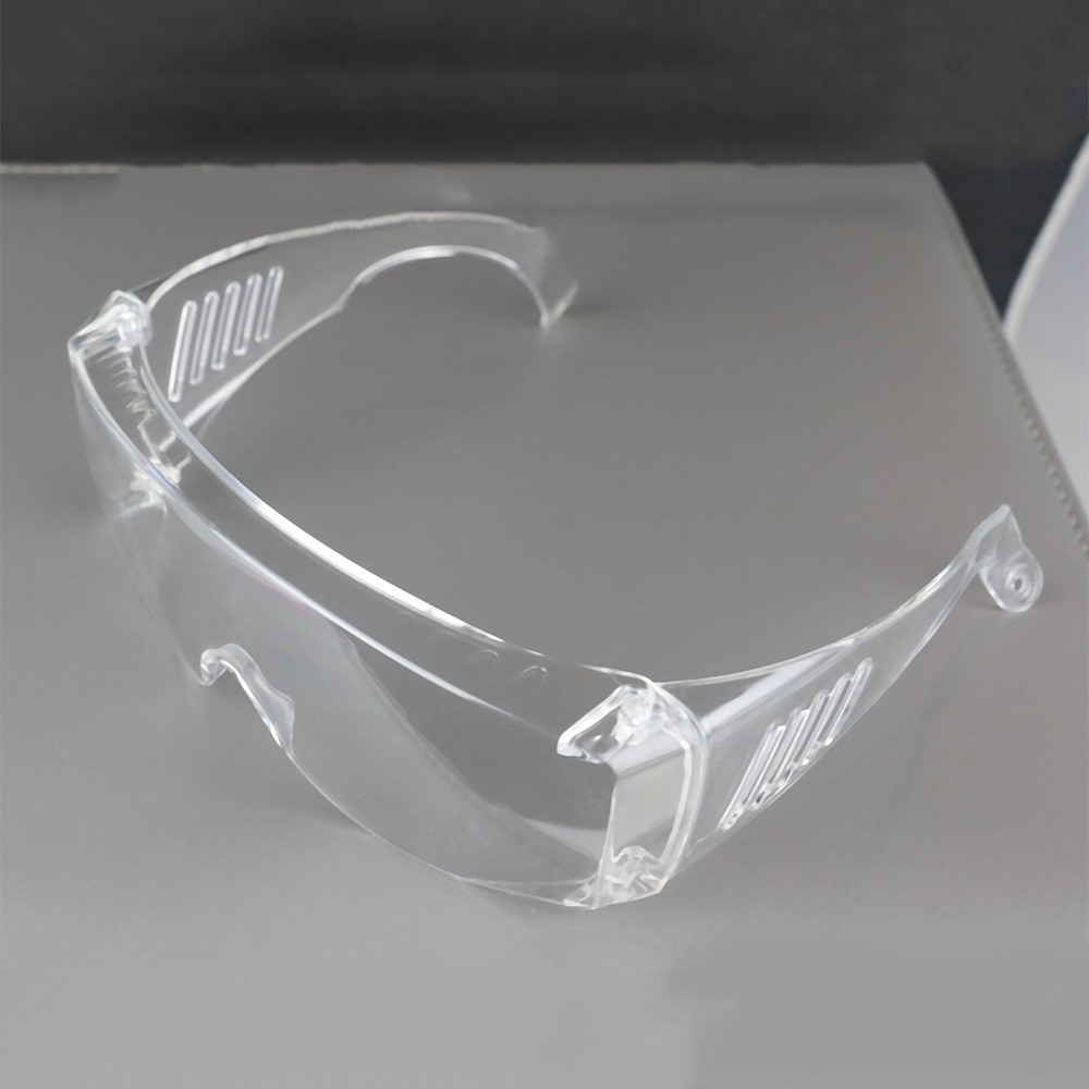 4Pcs/Box Protective Transparent Safety Glasses Goggles Lab Eyewear